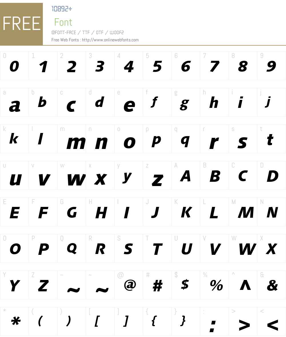 Linotype Syntax Font Screenshots