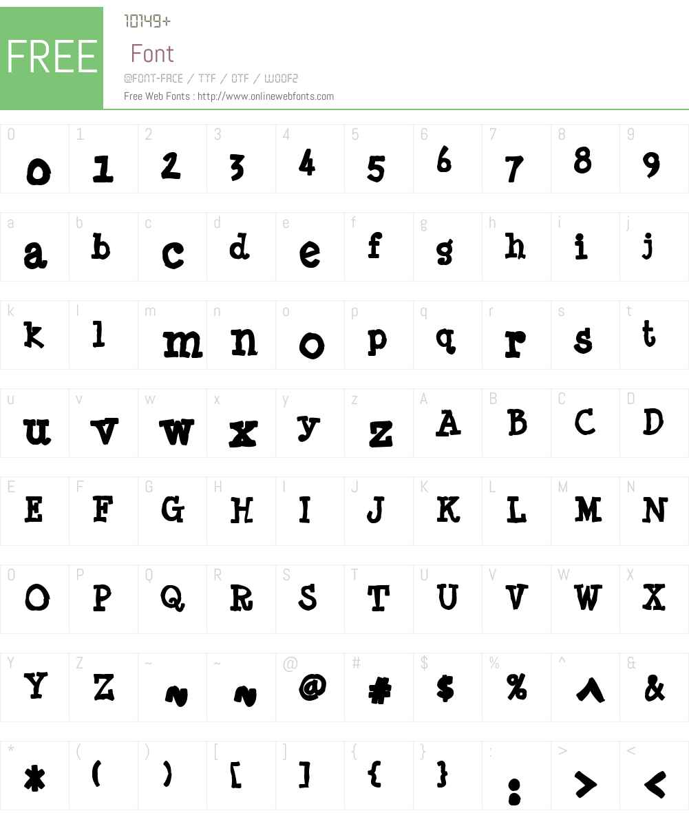 Minya Nouvelle Ink Font Screenshots