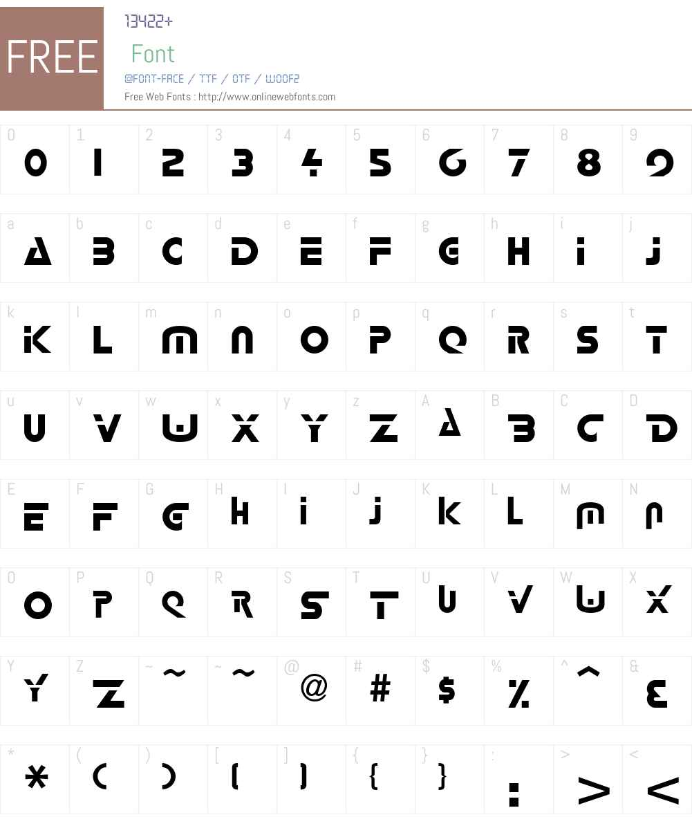 Loxx Font Screenshots