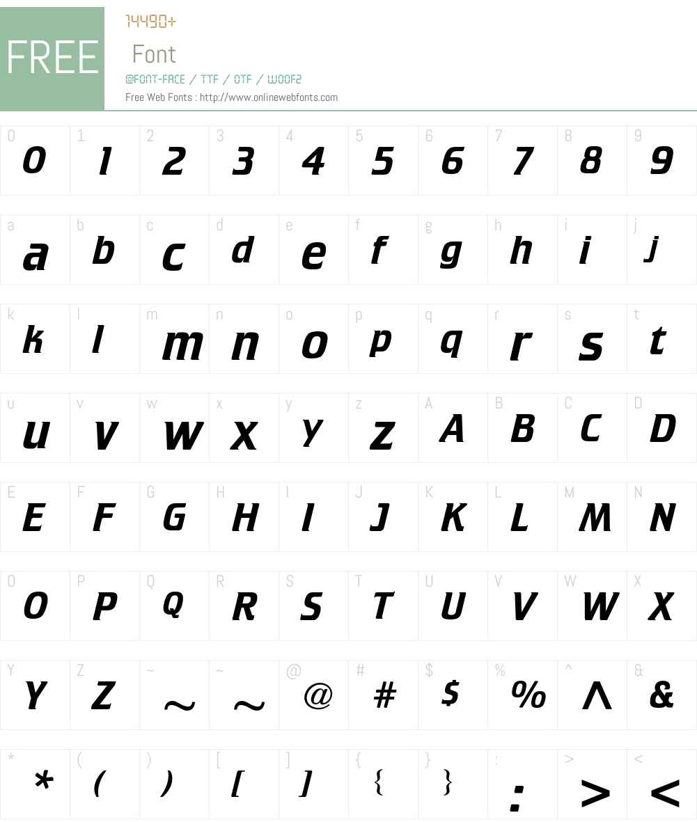 ATCrillee Font Screenshots