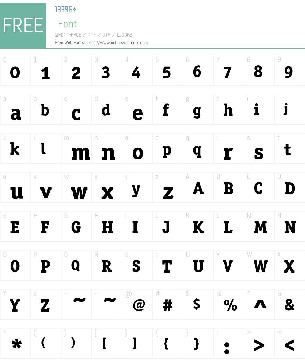 OfficinaSerITC Font Screenshots