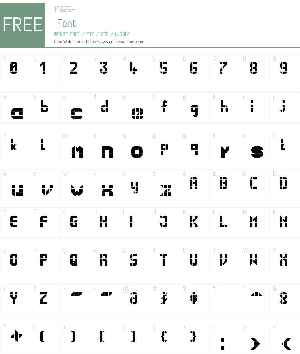 BusNormal Font Screenshots