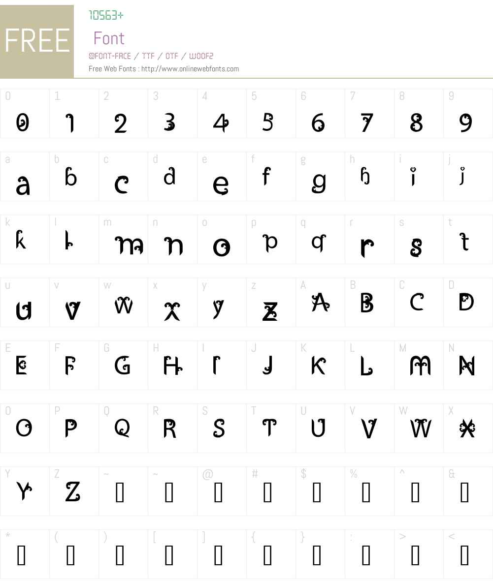 Ukiran Font Screenshots