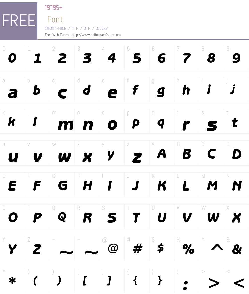 ITC Benguiat Gothic Font Screenshots