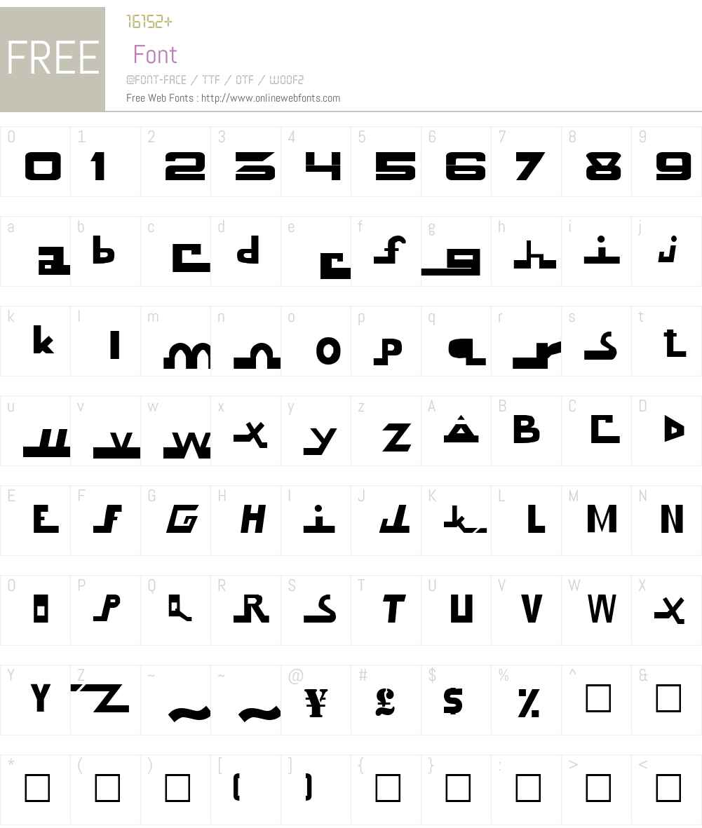 Know Future Font Screenshots