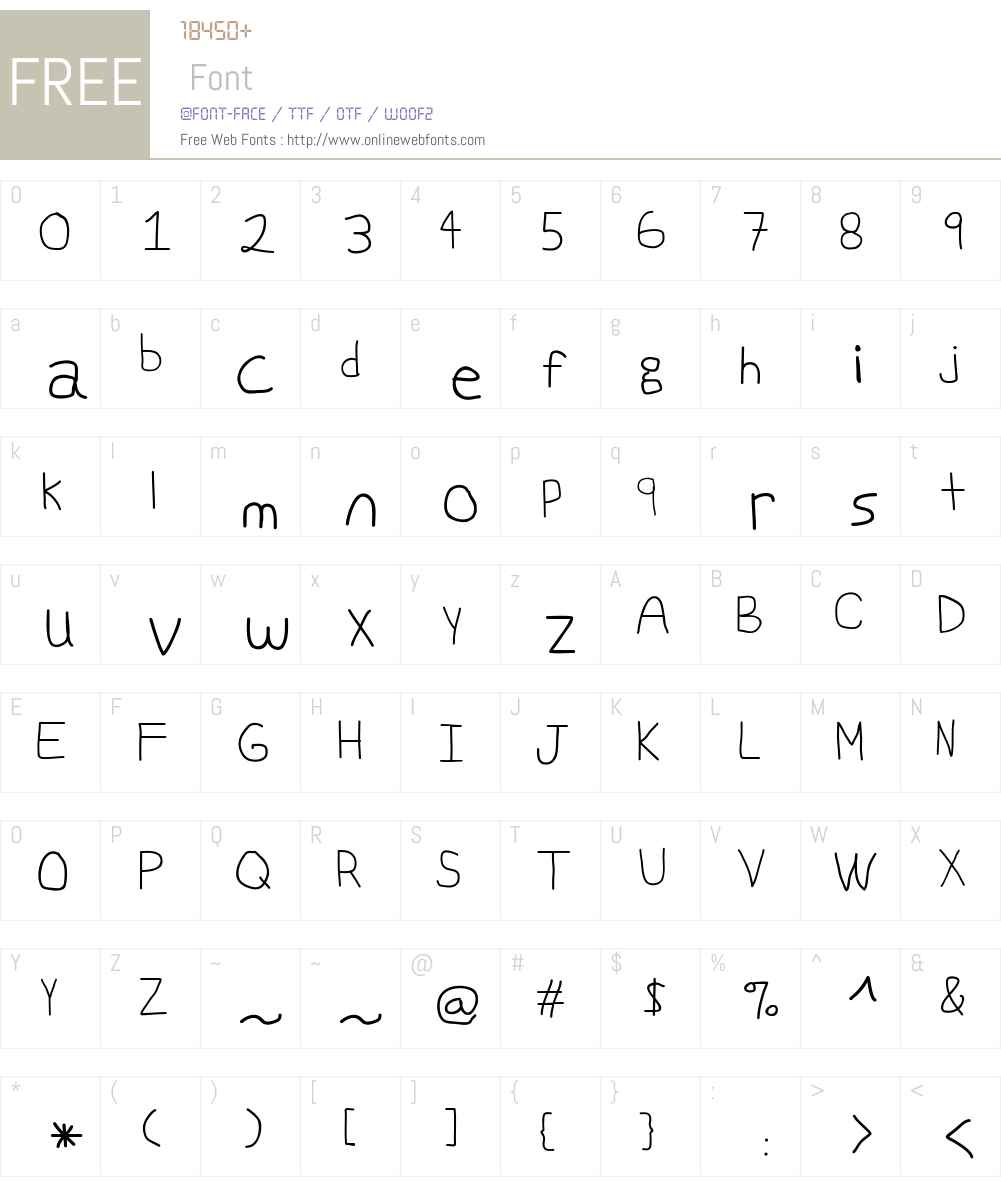 Swabby Font Screenshots