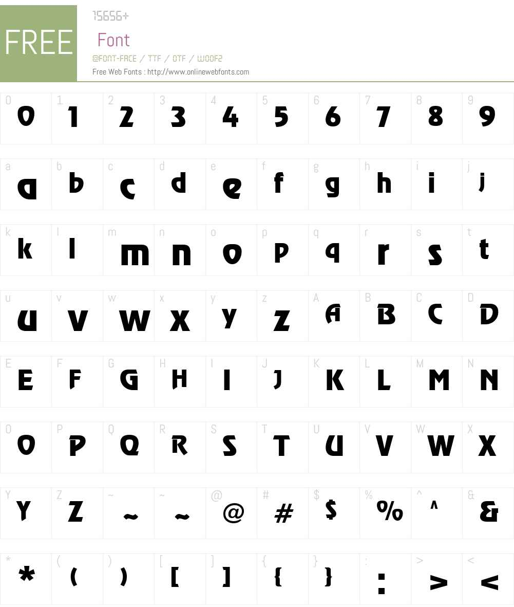 .VnRevue Font Screenshots