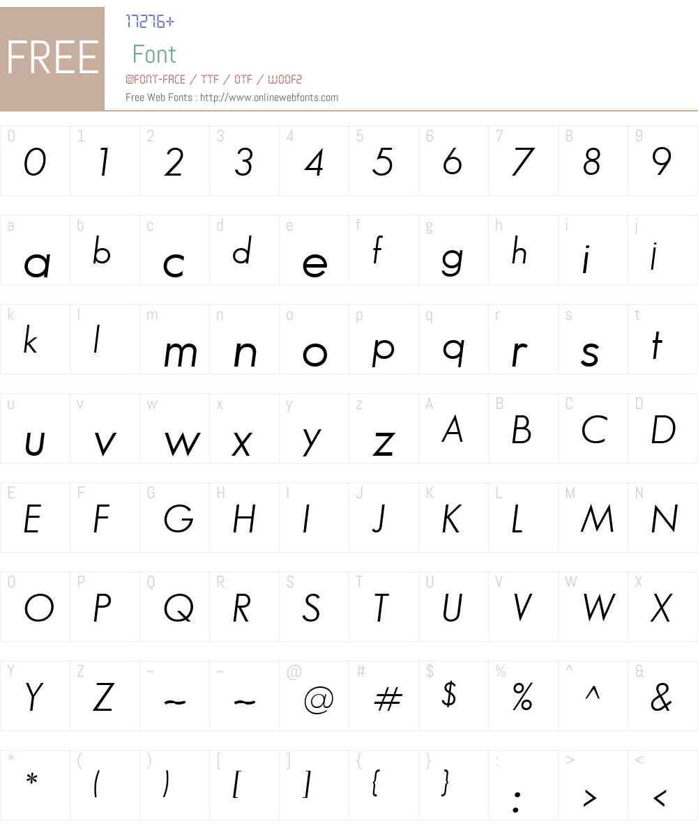 Bougan Book SSi Font Screenshots