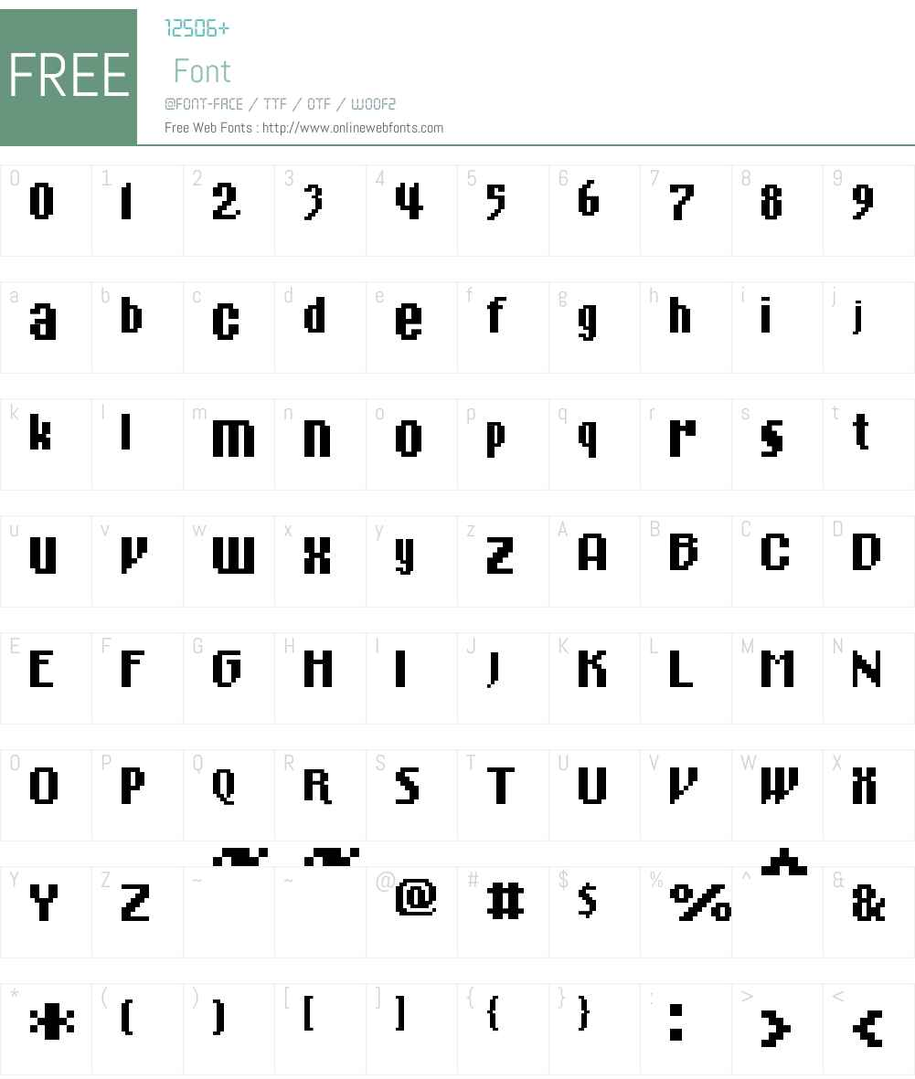 01Cinematix Font Screenshots