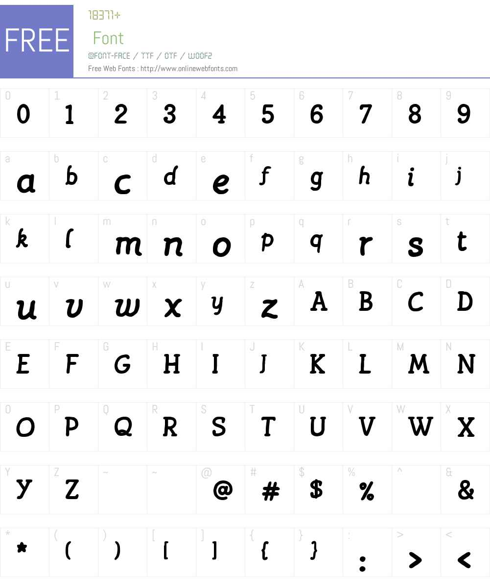 MontmartreW00-Bold Font Screenshots