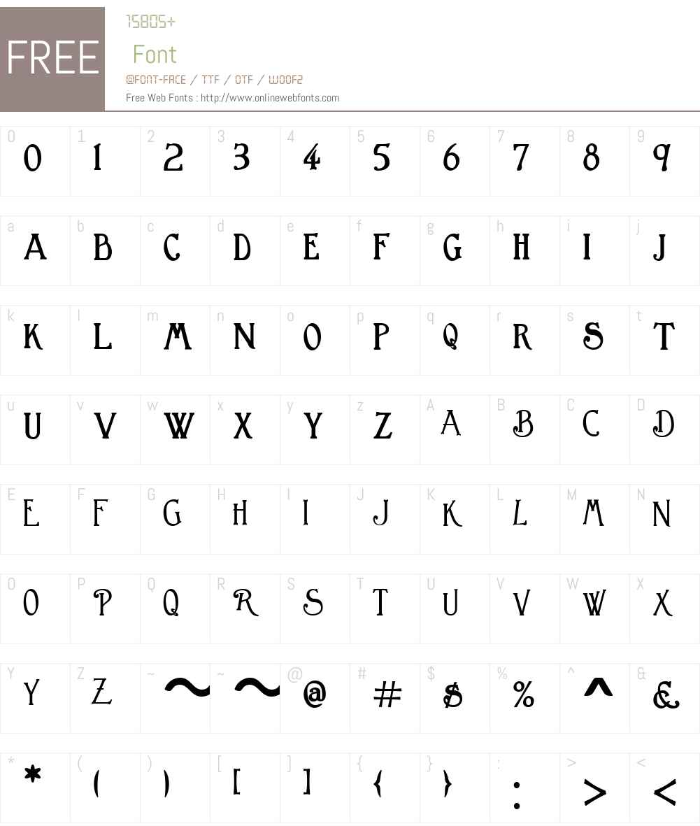 GreatBromwichW01-Bold Font Screenshots