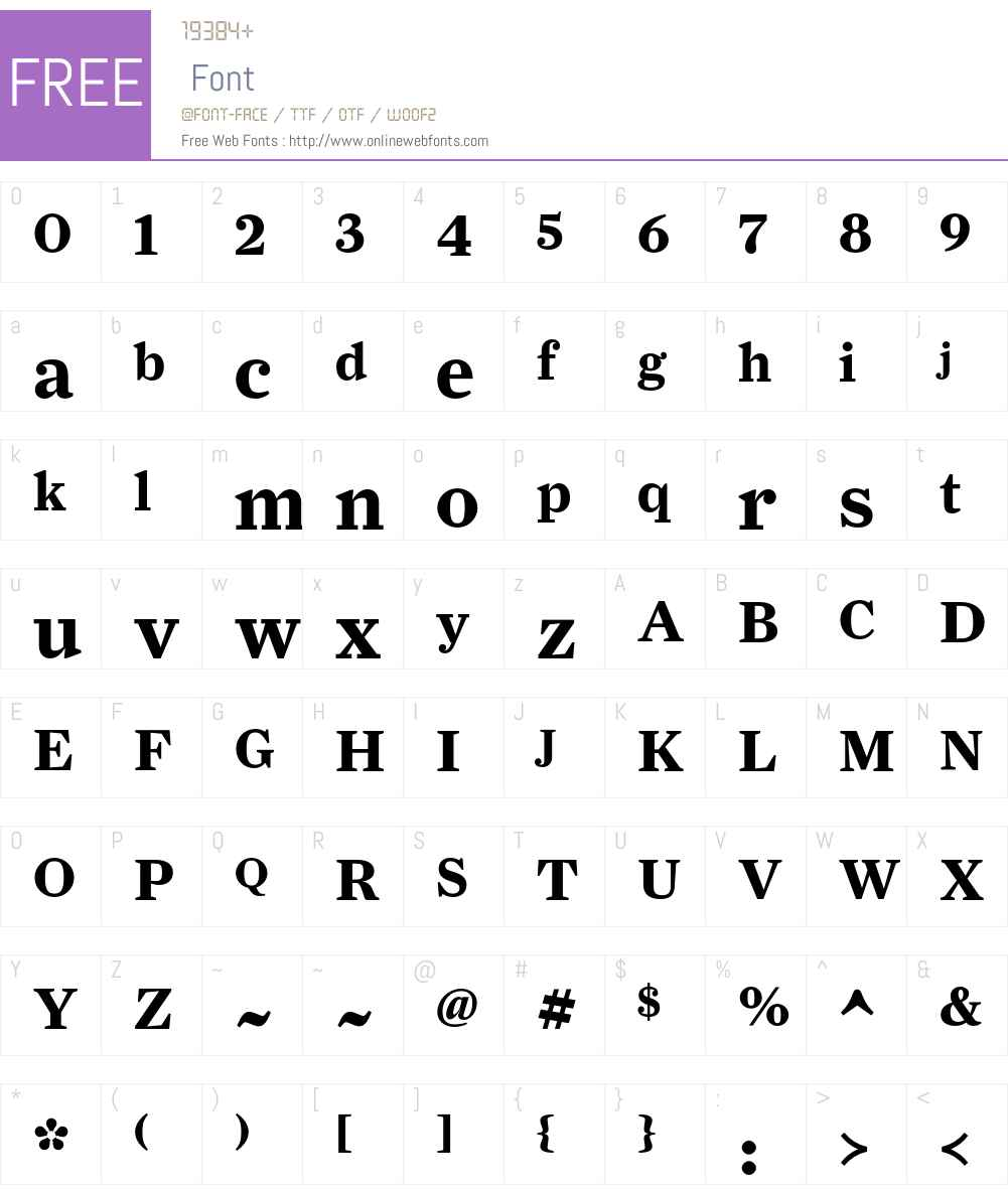 FarnhamDisplay-Bold Font Screenshots