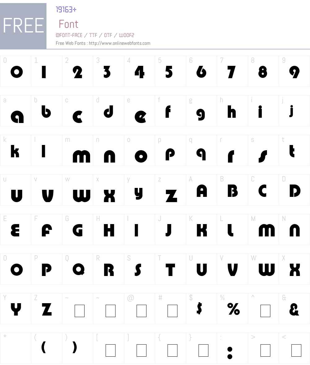 Celesti Display SSi Font Screenshots
