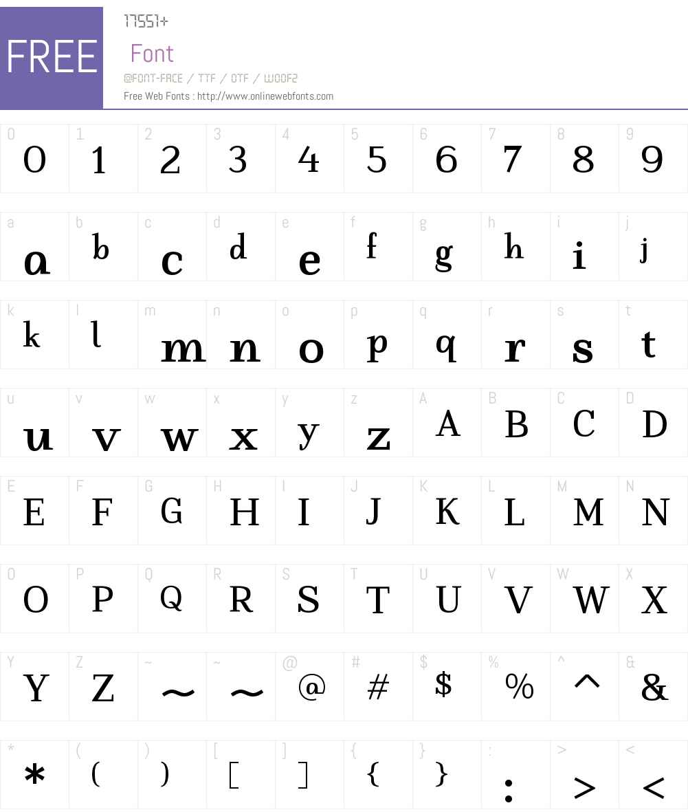 LastaW00-Bold Font Screenshots