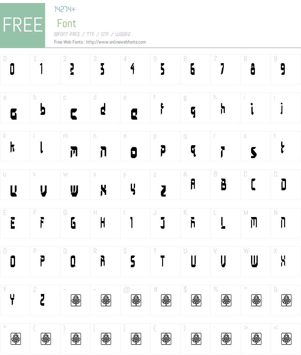 gardawesi Font Screenshots
