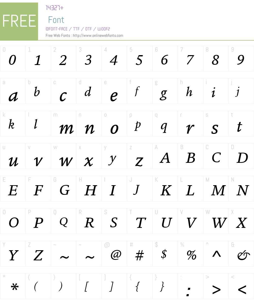 ITC Legacy Square Serif Font Screenshots