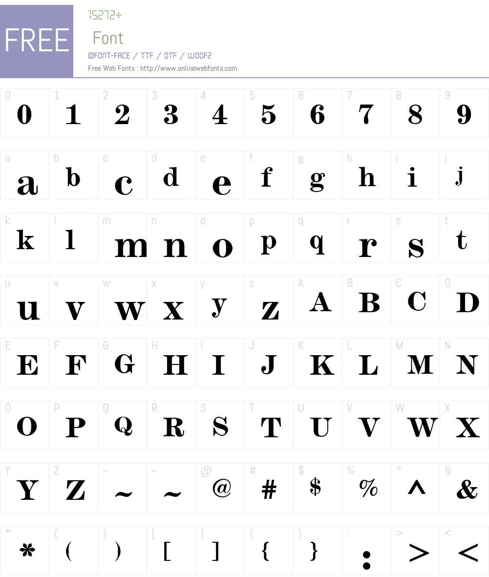 SaxW01-Bold Font Screenshots