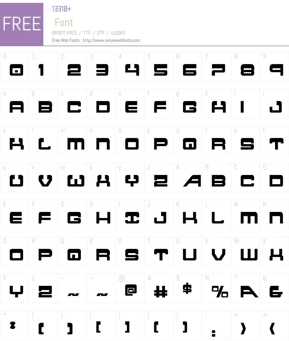 Atlantia Condensed Font Screenshots