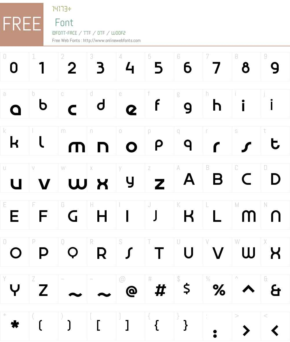 AldransAltW00-Medium Font Screenshots