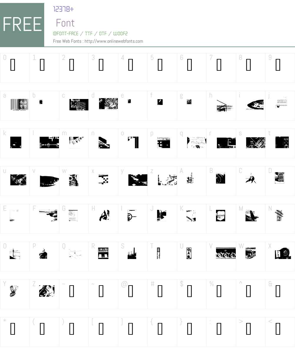 MySQema Font Screenshots