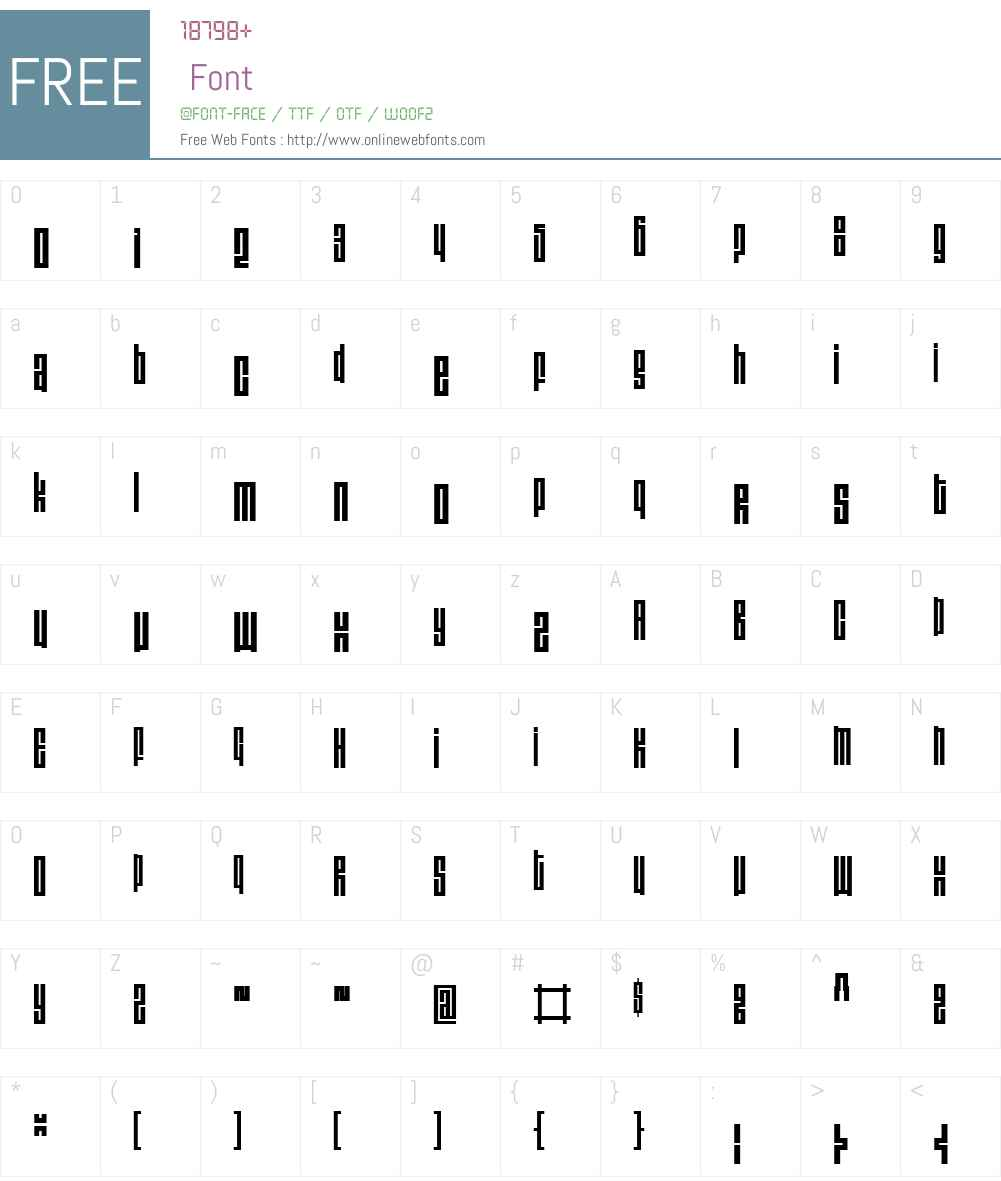 ThomasW00-Light Font Screenshots