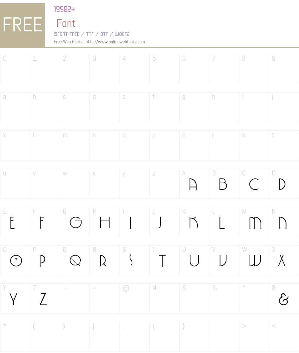 SpringGarden-Pl Font Screenshots