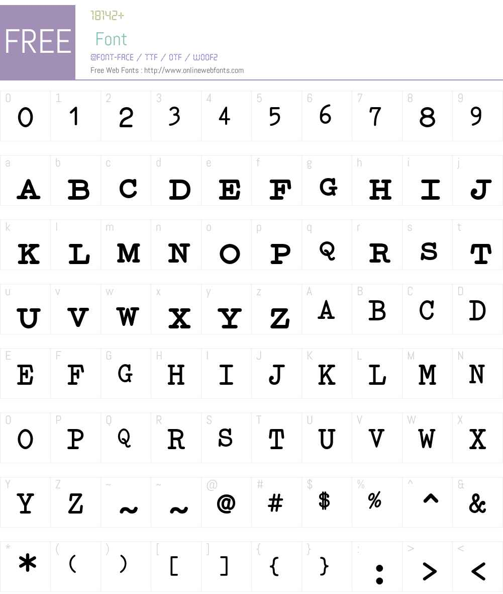 Elementa SC Font Screenshots