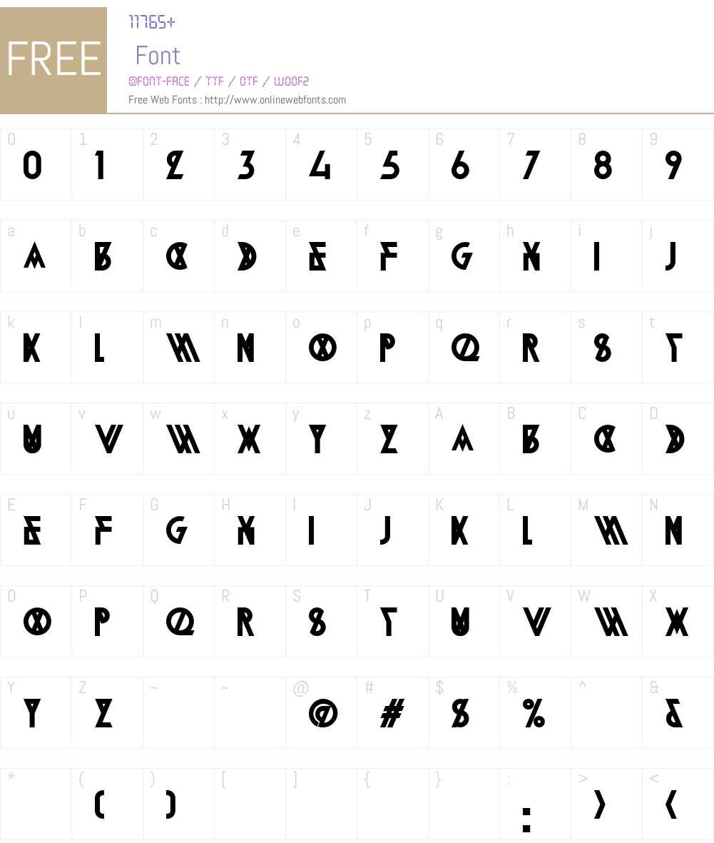 Alpine Typeface A2 Font Screenshots