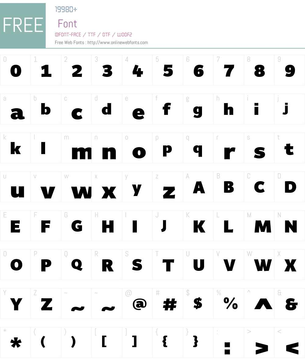 Giacomo MD Font Screenshots