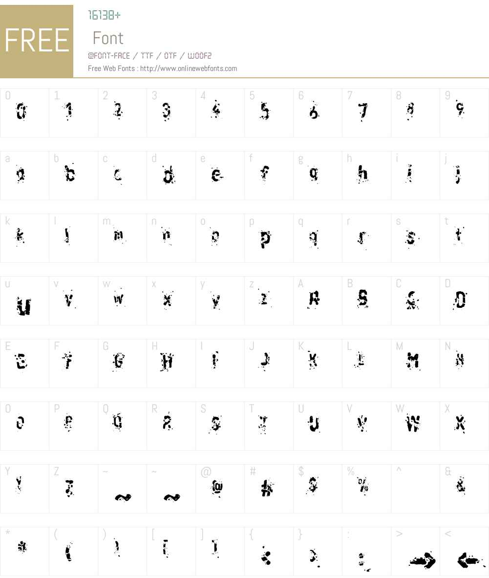 LTRussischBrot EatTwo Font Screenshots