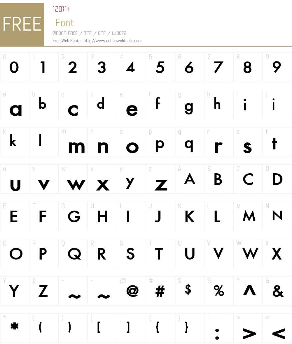 Fusi Font Screenshots