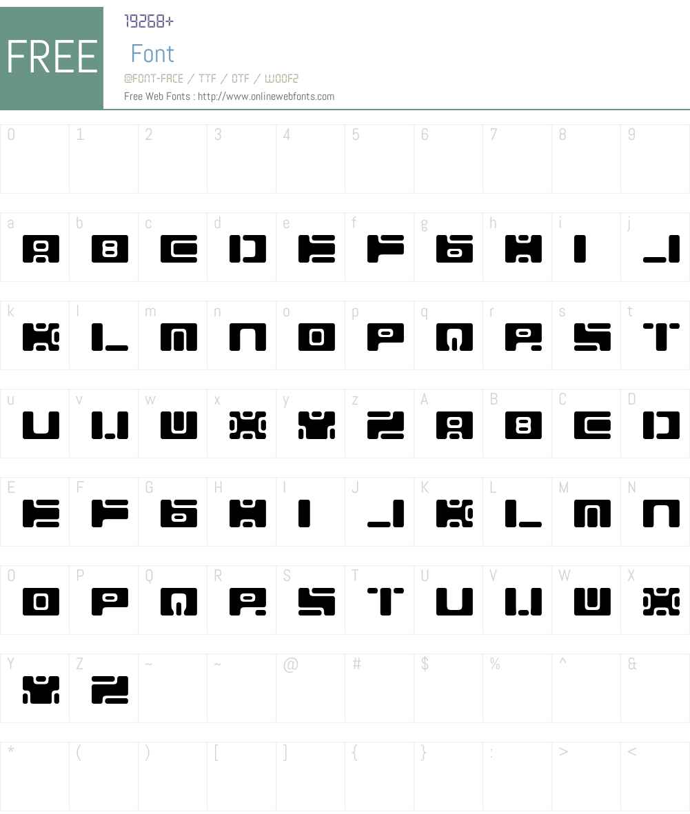 Equ Font Screenshots