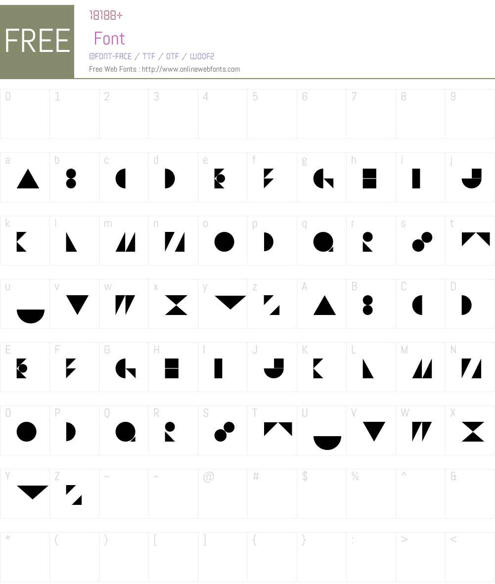 St Bookashade Font Screenshots