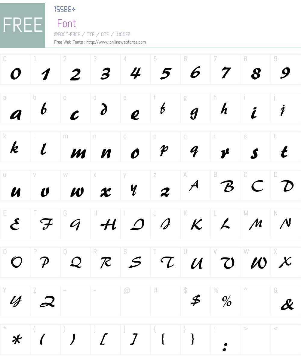 Palette BQ Font Screenshots