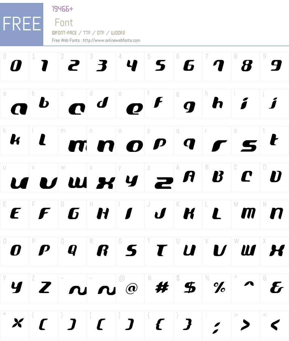 Oriole Font Screenshots