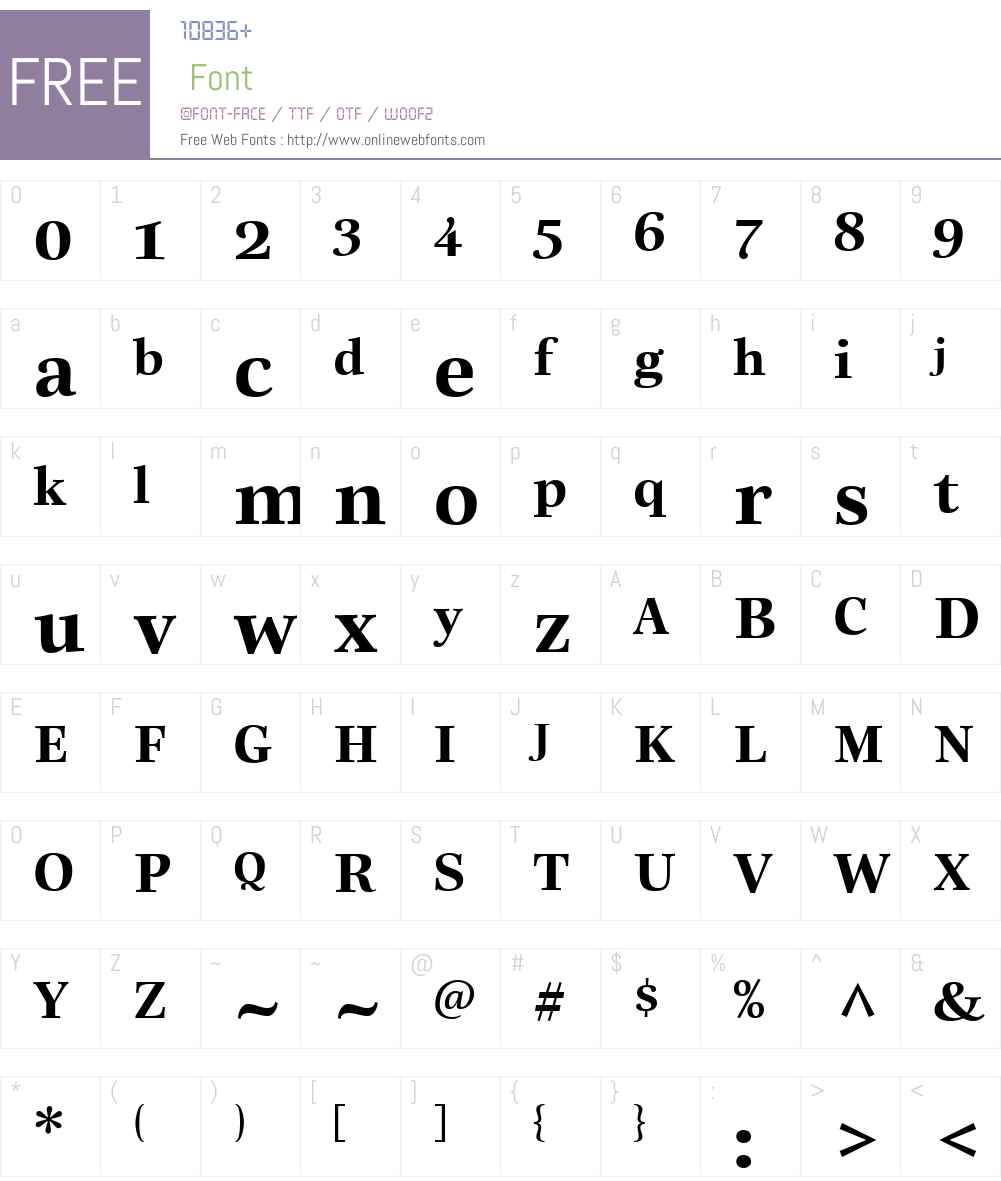 ReallyNo.2LTW01-Bold Font Screenshots