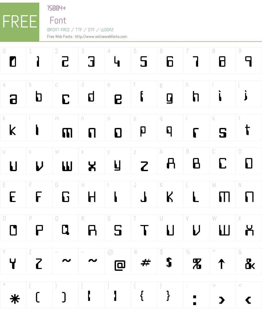 Future Font Screenshots