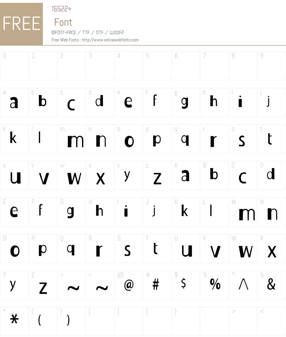Duckie Font Screenshots