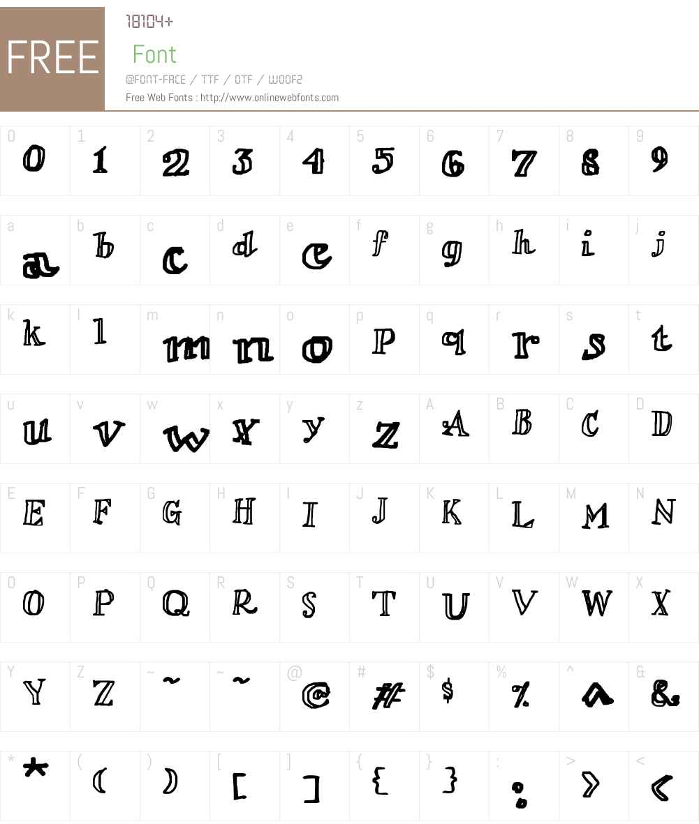 Loverly Font Screenshots