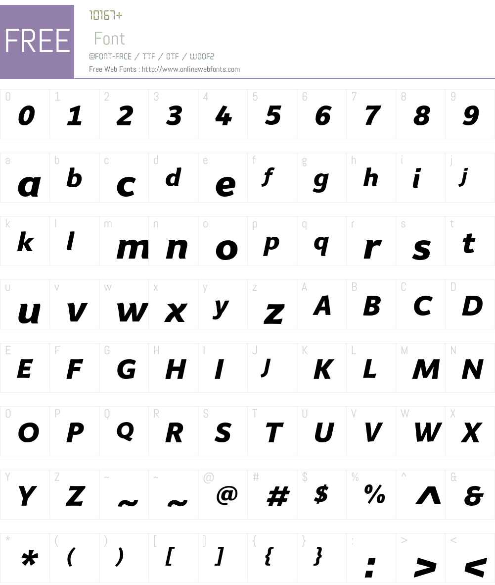 Giacomo Font Screenshots