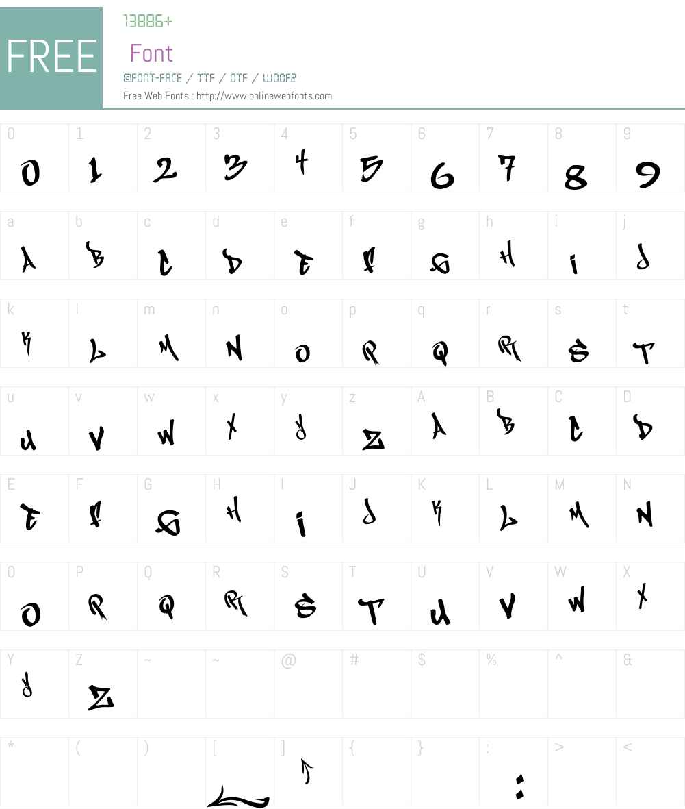 MagikMarker Font Screenshots