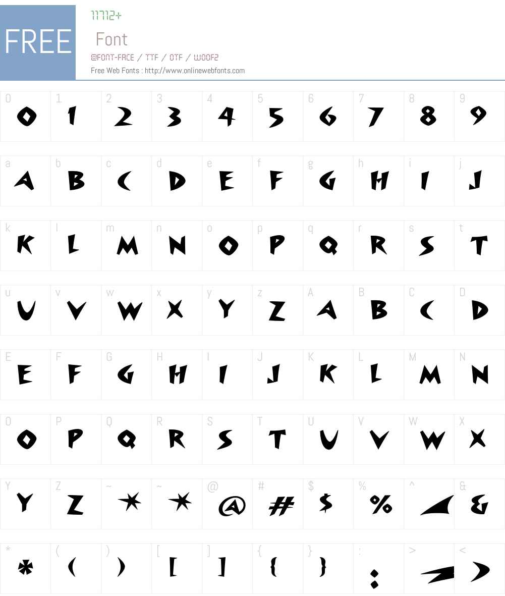 Surfboard ITC Font Screenshots