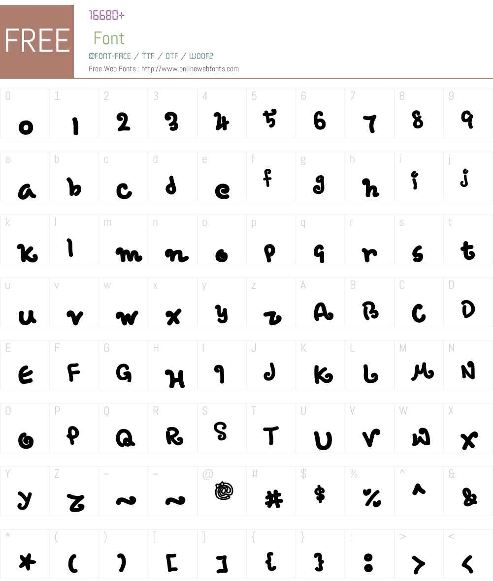 hope Font Screenshots