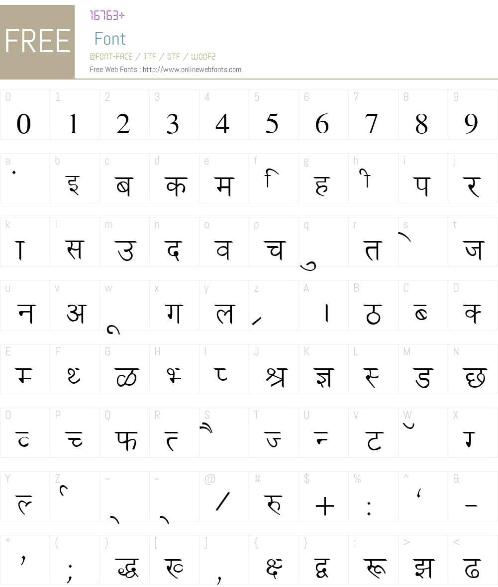 Ankit Font Screenshots