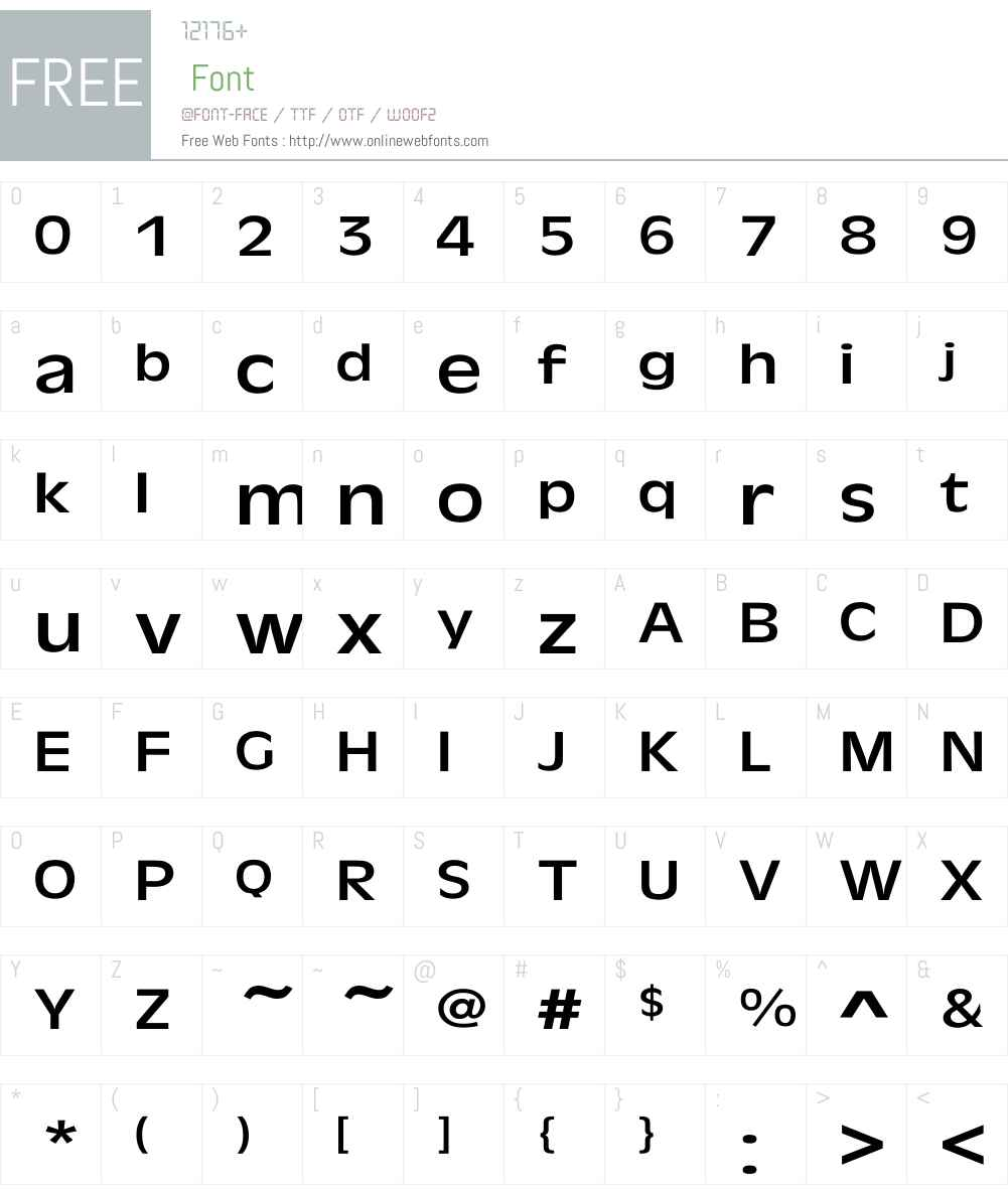 Antique-Olive Wd Font Screenshots