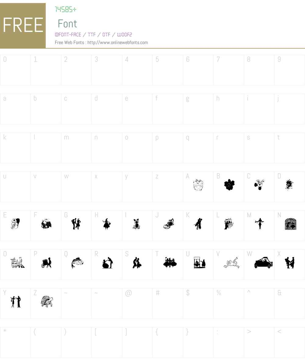 NewWGL4Font Font Screenshots
