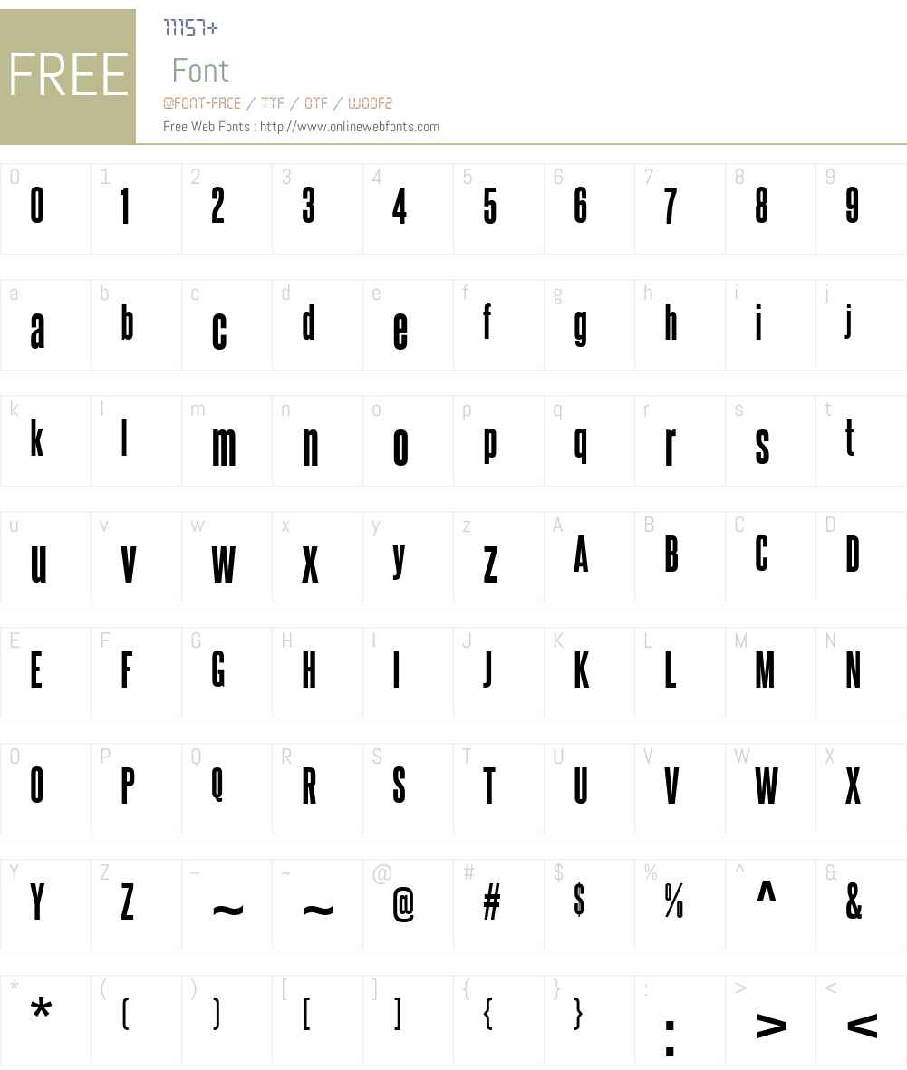 SteelfishW00-ExtraBold Font Screenshots
