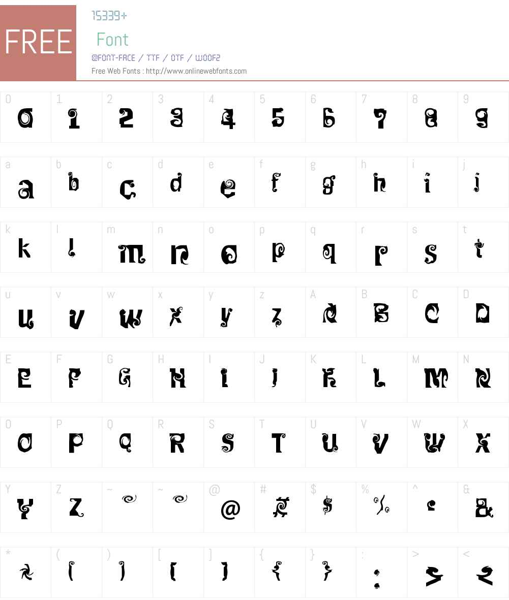 FF Mulinex Font Screenshots