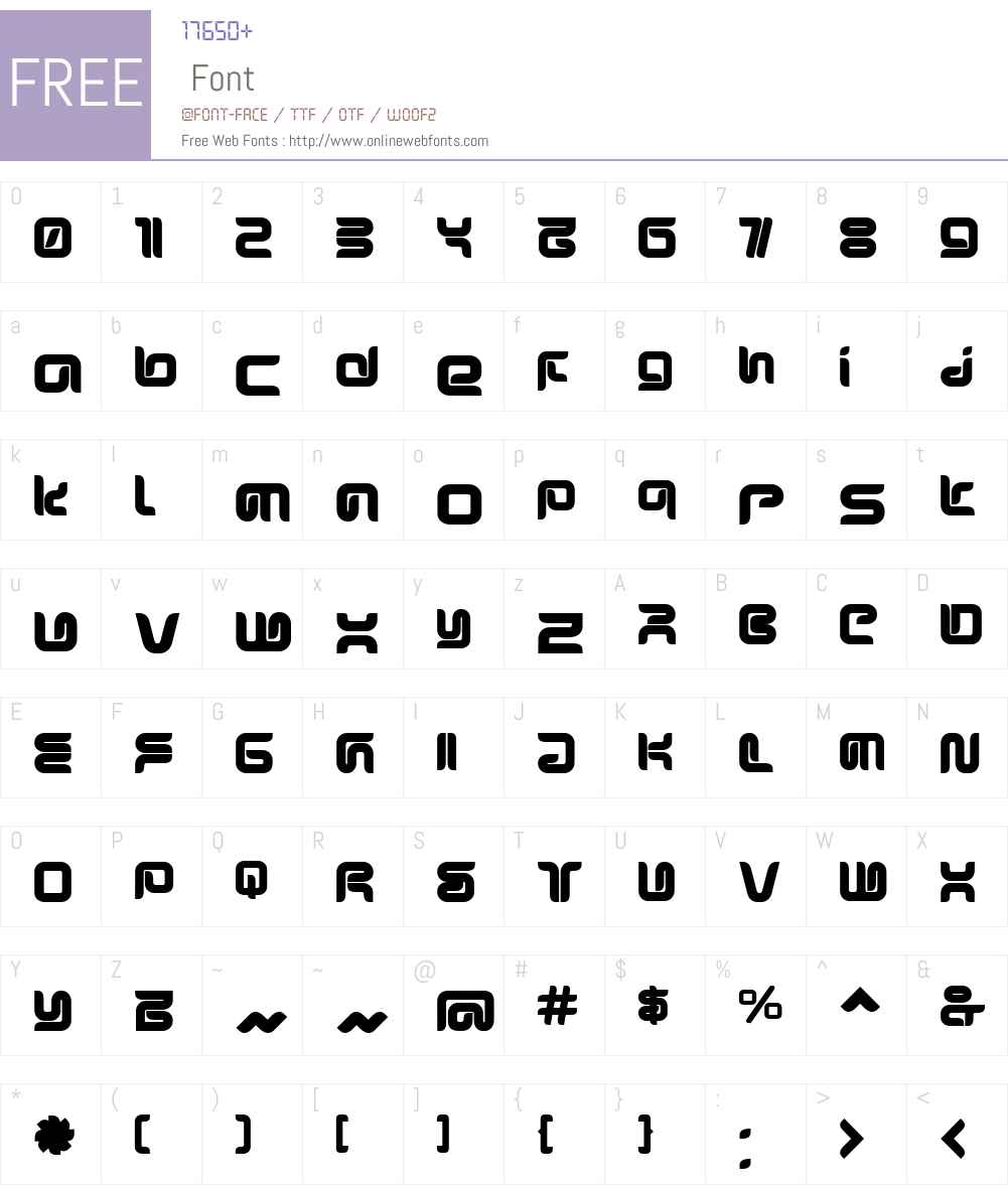 SharpUltra Font Screenshots
