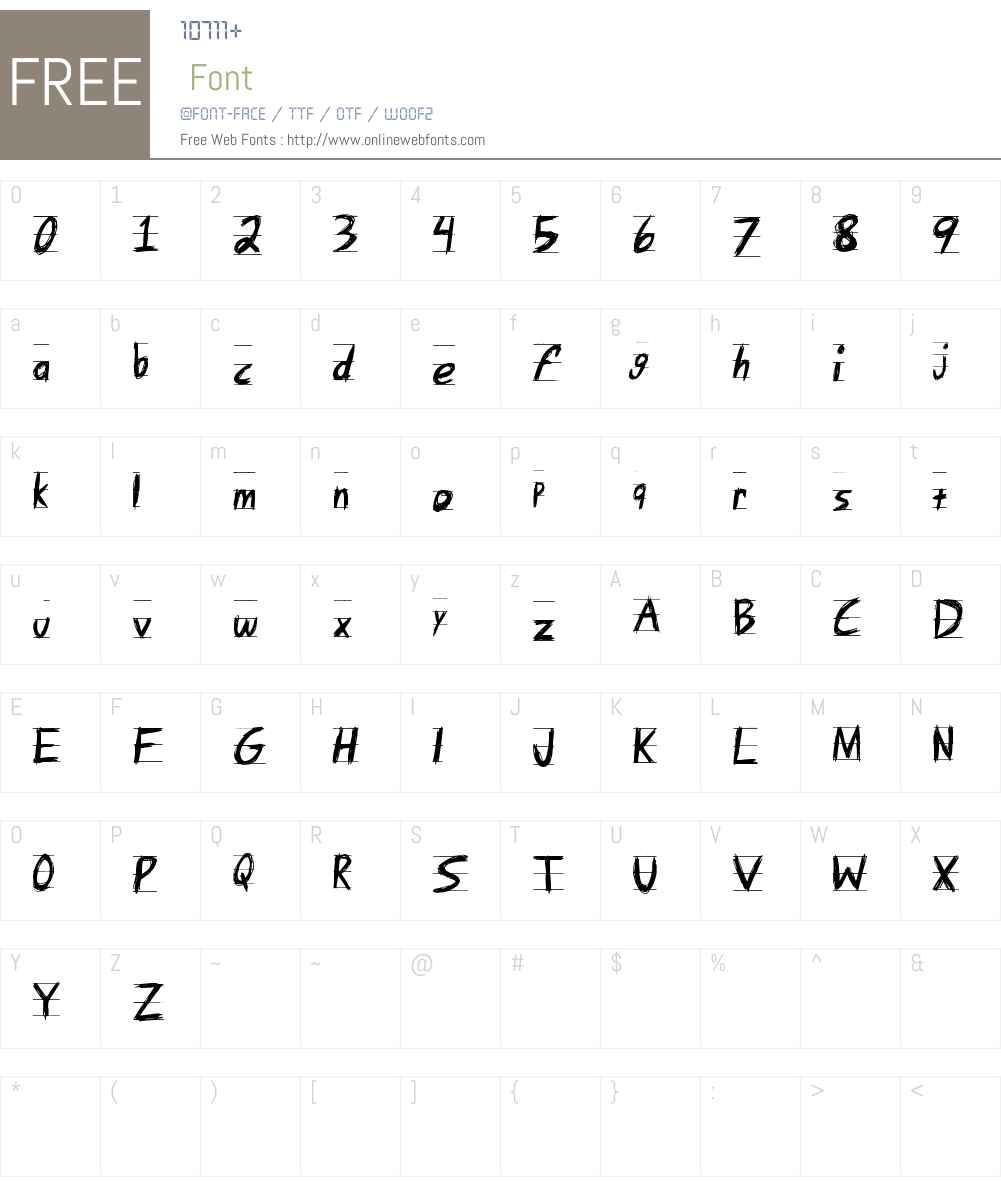 Angry Letter Font Screenshots